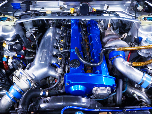 RB25DET With INTAKE SURGE AND GT3040 TURBO