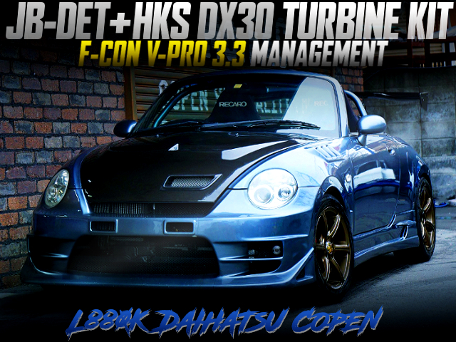 JB-DET with DX30 TURBO AND VPRO INTO L880K COPEN