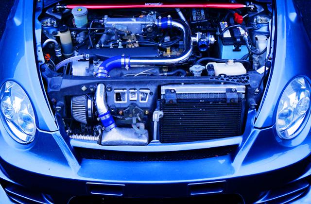 JB-DET TURBO ENGINE OF L880K COPEN MOTOR
