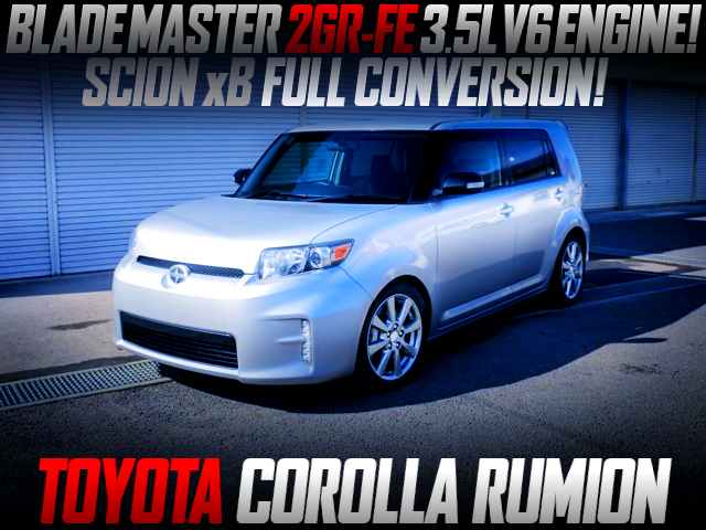 2GR-FE 3500cc SWAP AND SCION xB CONVERSION TO COROLLA RUMION