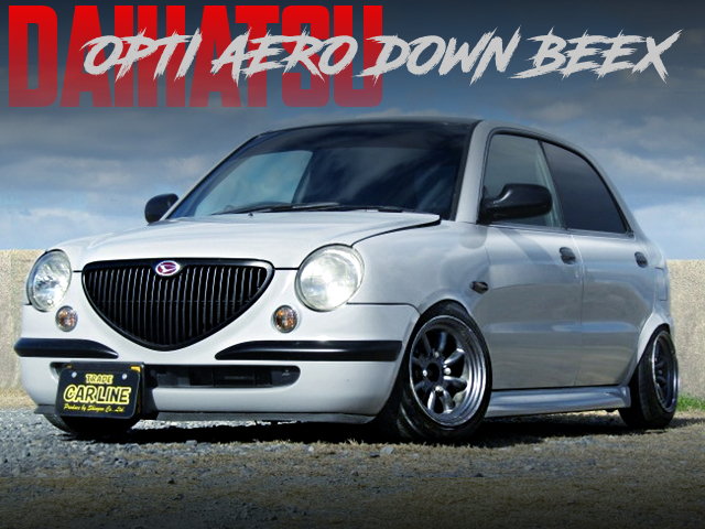 CANBER ANS STANCE OF DAIHATSU OPTI AERO DOWN BEEX