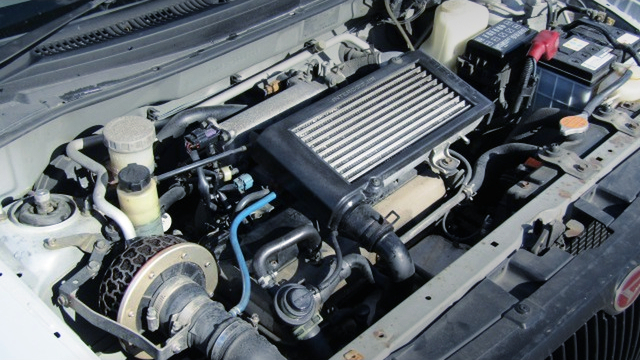 JB-DET TURBO ENGINE OF DAIHATSU OPTI AERO DOWN BEEX
