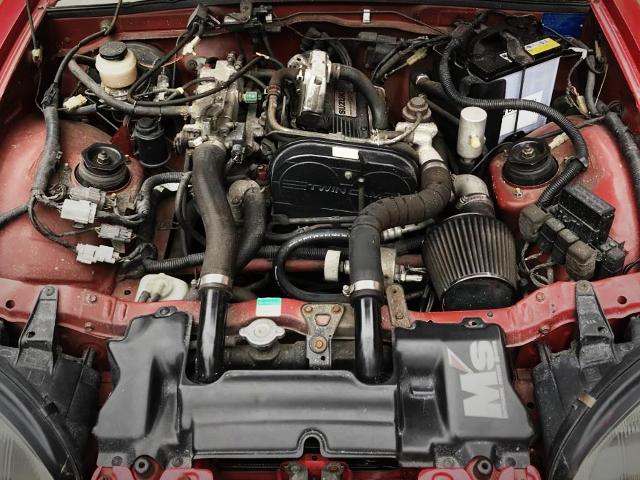F6A TWINCAM TURBO ENGINE OF EA11R MOTOR