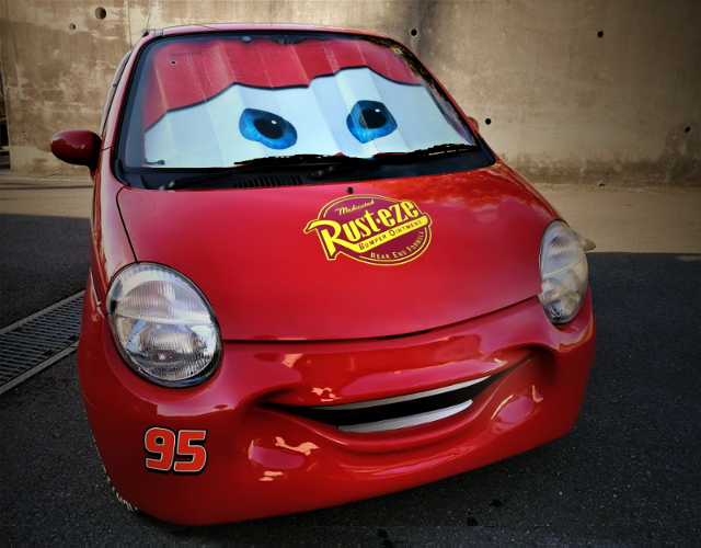 SMAIL BUMPER OF MOVIE CARS STYLE.