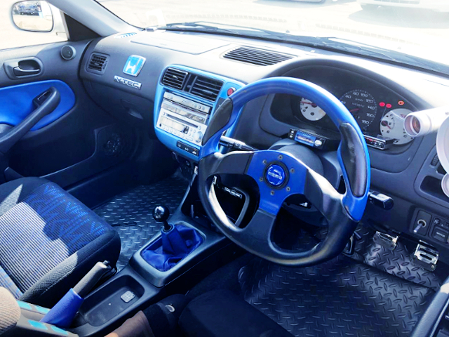 INTERIOR OF EK3 CIVIC FERIO