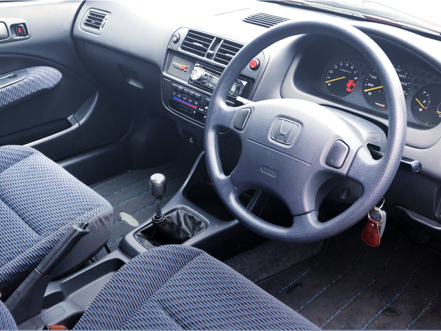 INTERIOR OF DASHBOARD