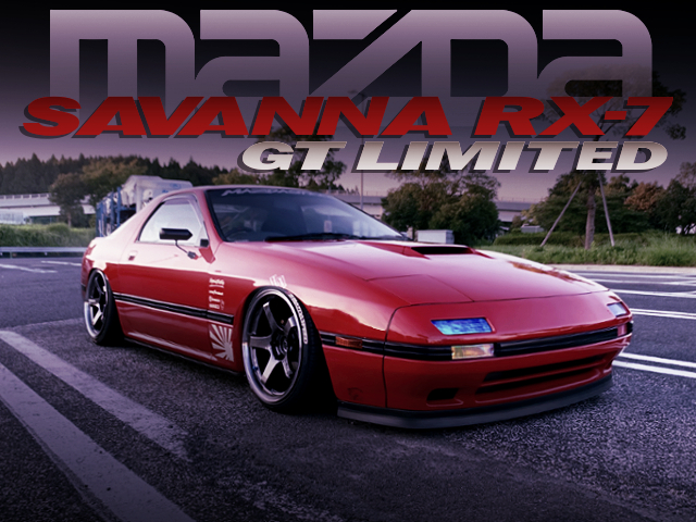 STANCE AND CAMBER CUSTOM TO FC3S SAVANNA RX7 GT-LIMITED