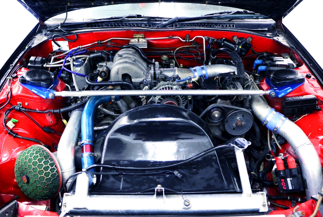 13B-T ROTARY TURBO ENGINE OF FC3S RX7 MOTOR.