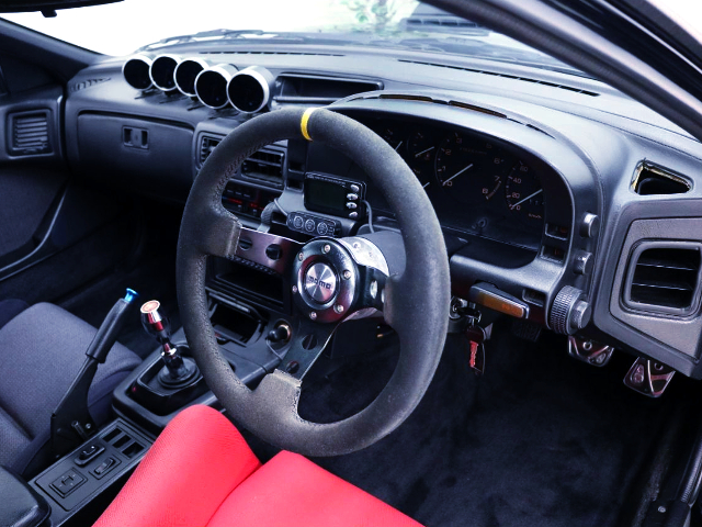 FC3S RX-7 DASHBOARD.