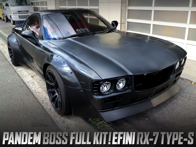 PANDEM BOSS FULL KIT INSTALLED EFINI FD3S RX-7 TYPE-S
