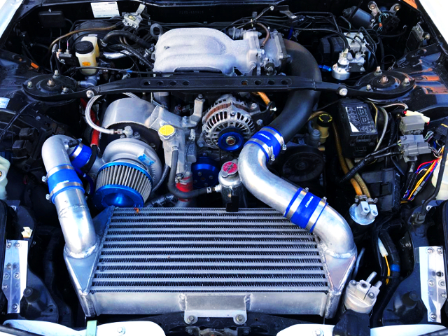 TD06SH SINGLE TURBO ON 13B-REW