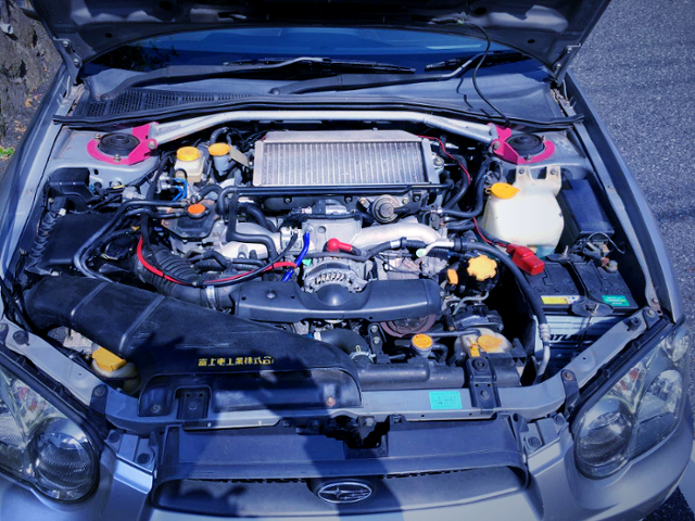 EJ205 BOXER TURBO ENGINE