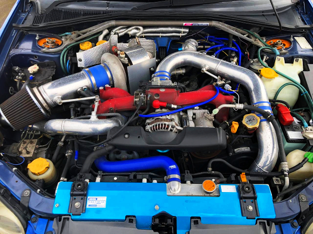 EJ207 BOXER ENGINE With GREDDY TURBOCHARGER
