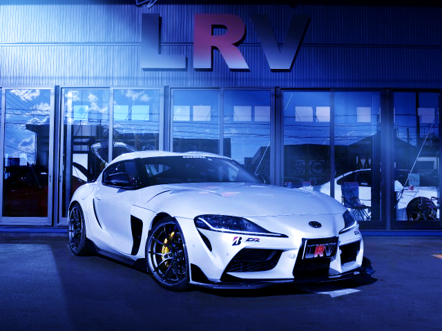 FRONT EXTERIOR OF GR SUPRA RZ
