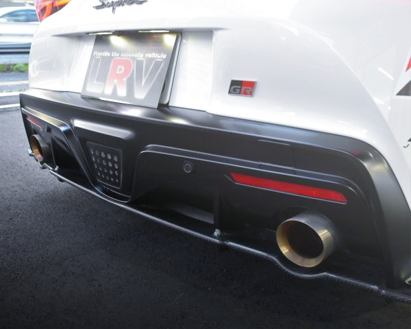 EXHAUST MAFFLER OF GR SUPRA RZ