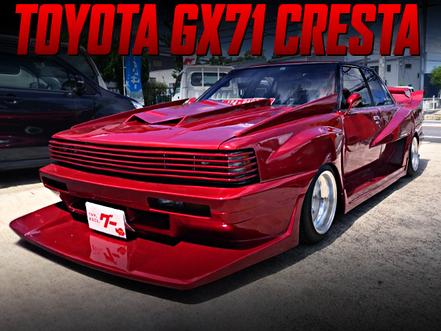 KOENIG WIDEBODY CUSTOM OF GX71 CRESTA KAIDO RACER.