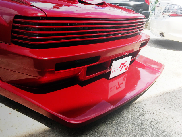 CUSTOM FRONT GRILLE OF GX71 CRESTA KAIDO RACER.
