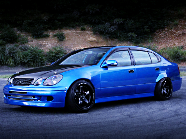 FRONT EXTERIOR OF JZS161 ARISTO TO 2JZ-GTE MODEL.