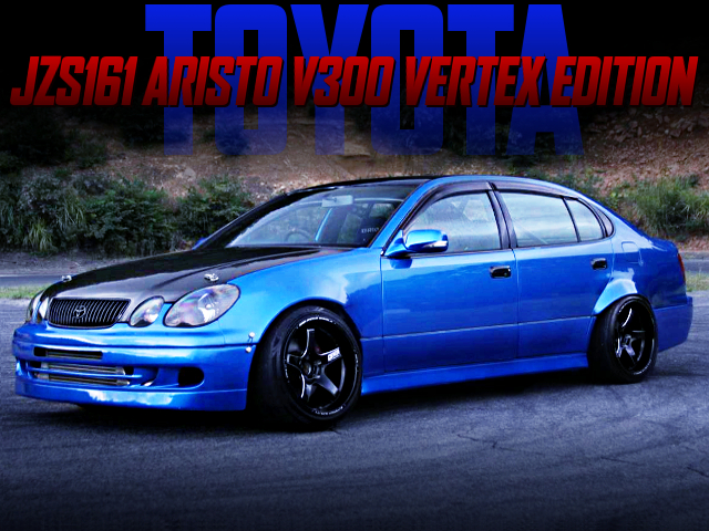 5MT CONVERSION AND DRIFT CUSTOM OF JZS161 ARISTO V300 VERTEX ED.