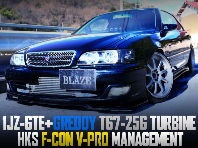 T67-25G TURBO AND F-CON V-PRO With JZX100 CHASER TOURER-S