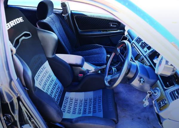 DRIVER'S BRIDE SEMI BUCKET SEAT