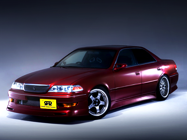 FRONT EXTERIOR OF JZX100 MARK2
