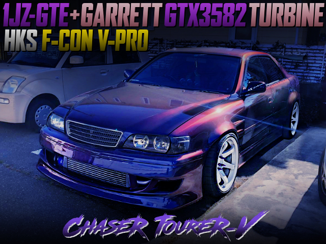 GTX3582 TURBO AND F-CON V-PRO INTO CHASER TOURER-V WIDEBODY