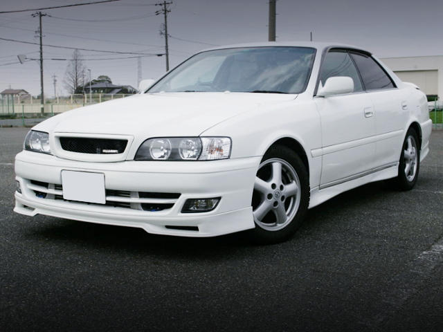 FRONT EXTERIOR OF JZX100 CHASER TOURER-S