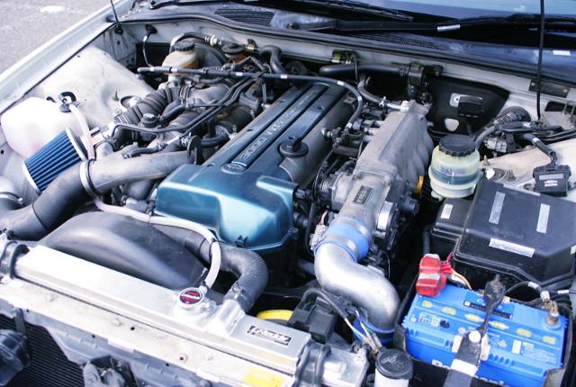 VVTi 2JZ-GTE TWINTURBO ENGINE