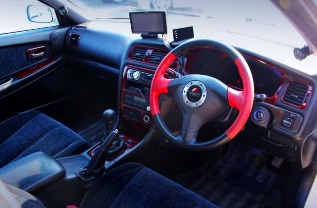 TRD STEERING AND DASHBOARD