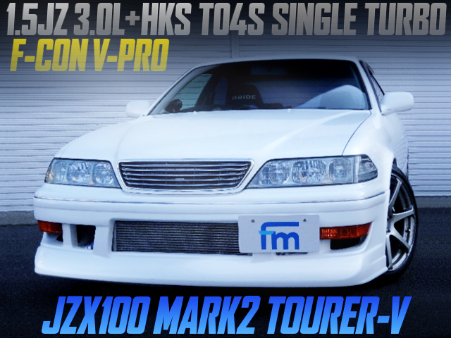 15JZ ENGINE TO4S SINGLE TURBO INTO JZX100 MARK2 TOURER-V