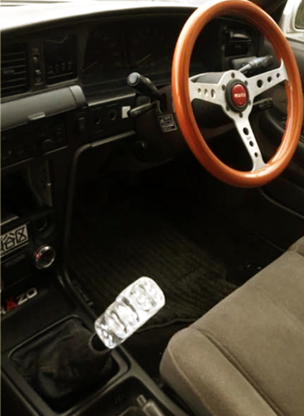 STEERING AND SHIFT KNOB oF JZX81 MARK2