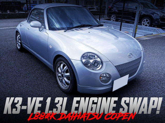 K3-VE 1300cc With AUTOMATIC INTO L880K COPEN