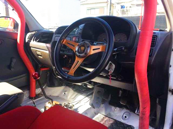 INTERIOR OF CUSTOM DASHBOARD