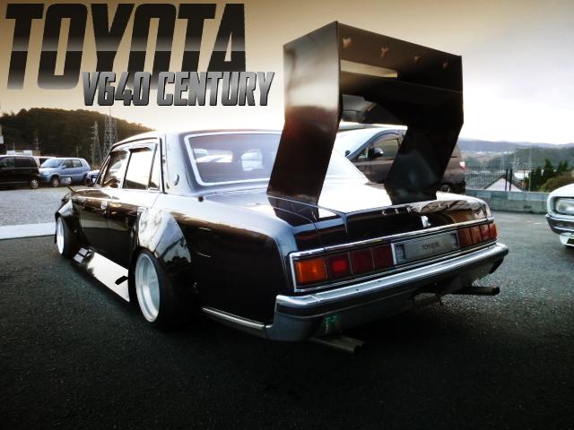 KAIDO RACER WORKS WIDEBODY OF TOYOTA VG40 CENTURY