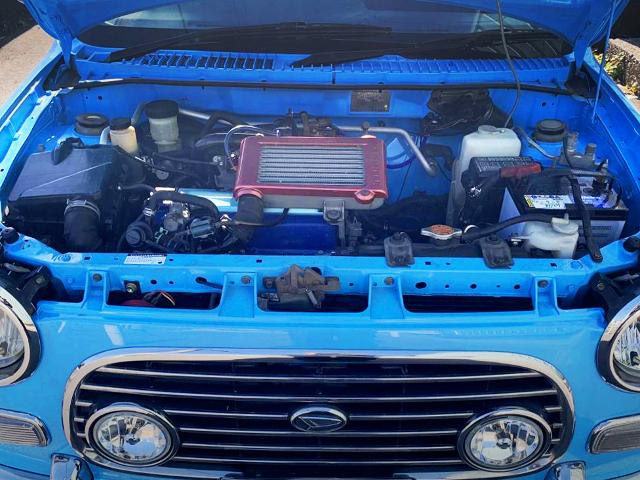 EF-DET TURBO ENGINE INSTALLED OF L700S MIRA ENGINE ROOM