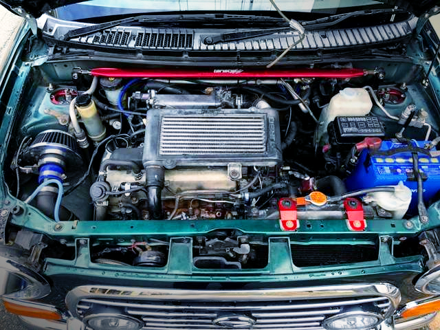 INLINE-FOUR JB 660cc TURBO ENGINE
