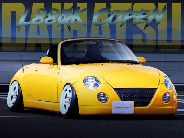 L880K COPEN With CAMBER AND STANCE