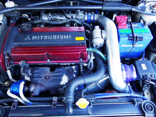 4G63 TURBO ENGINE OF LANCER EVOLUTION 8 GSR MOTOR