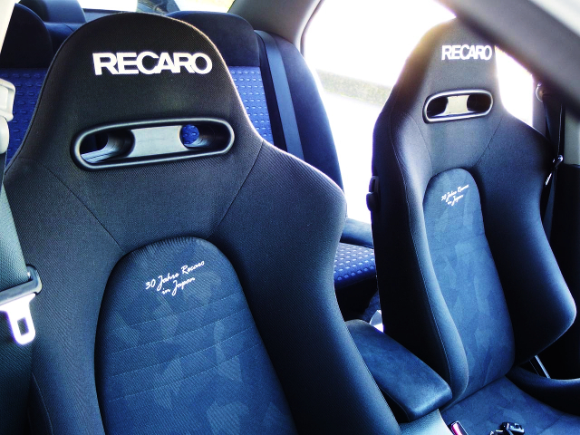 RECARO SEATS OF LIMITED MODEL