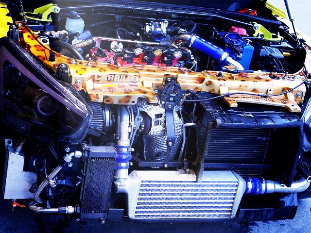 KF TURBO ENGINE OF CUSTOM COPEN ROBE