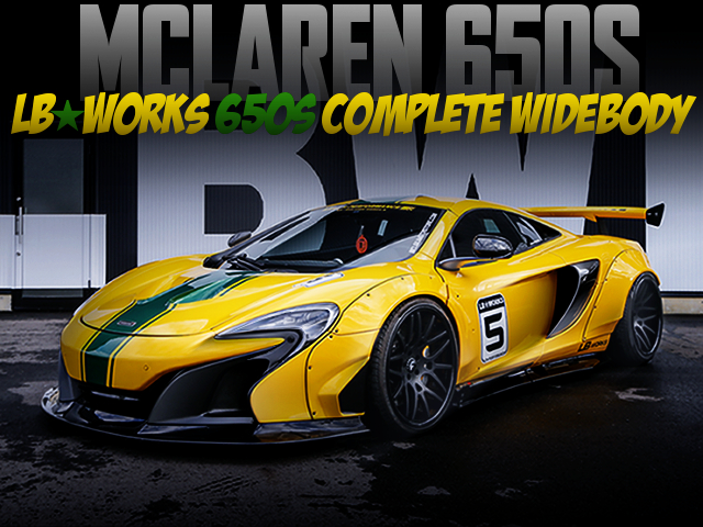 LB-WORKS WIDEBODY BUILT TO MCLAREN 650S.