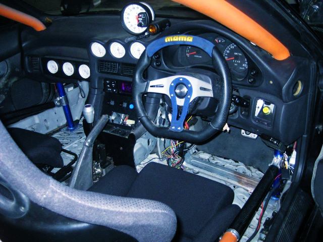 INTERIOR OF Z16A MITSUBISHI GTO