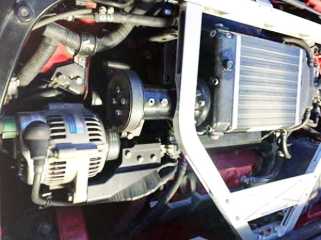 COMPTECH SUPERCHARGER KIT INSTALLED C32B