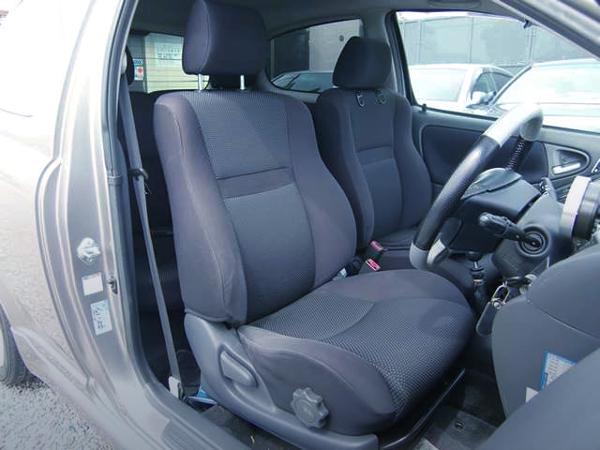 INTERIOR SEATS OF NCP13 VITZ RS.