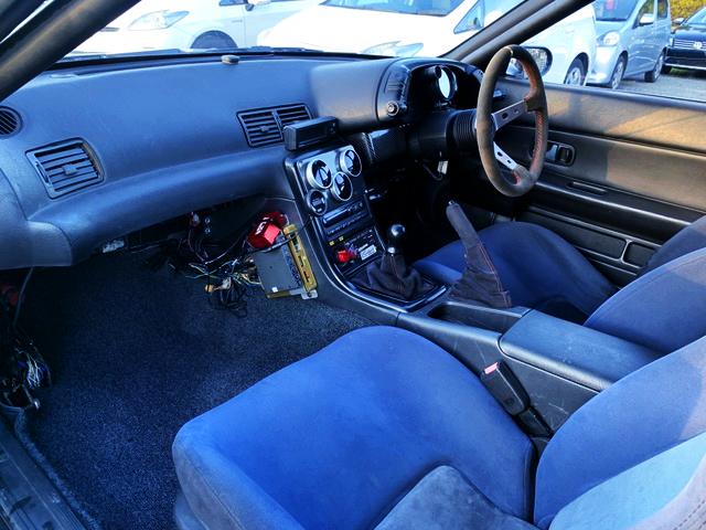 INTERIOR CUSTOM DASHBOARD OF R32 GT-R