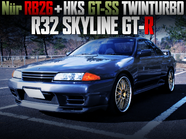 Nur RB26 with GT-SS TWIN TURBO INTO R32GT-R