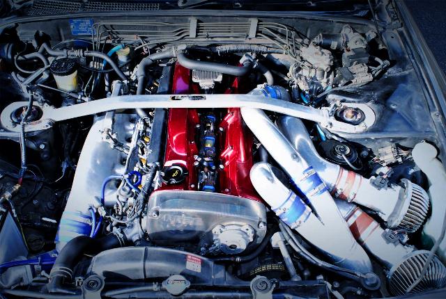 RB26DETT TWIN TURBO ENGINE