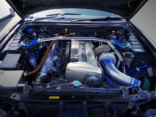 RB26 BIG SINGLE TURBO ENGINE