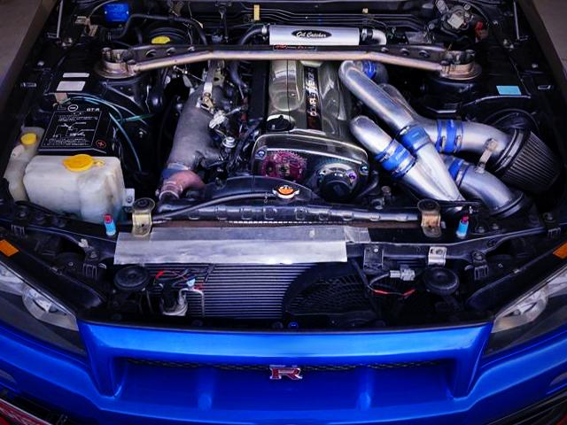 RB26 TWINTURBO ENGINE R34GT-R MOTOR